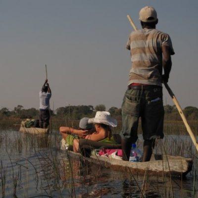 Namibia/Botswana boat