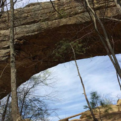 Spring Camping at Kentucky's Natural Bridge State Resort