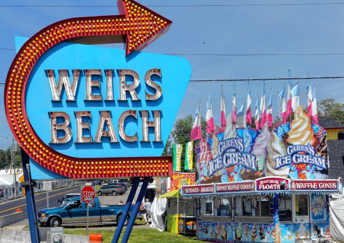 Iconic Weirs Beach Sign