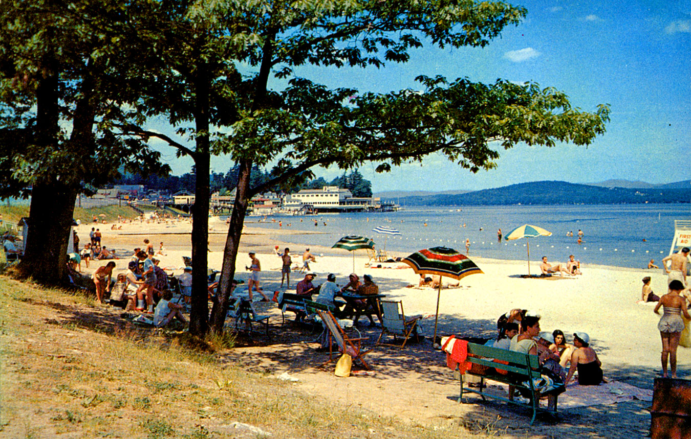 Weirs beach circa 1960