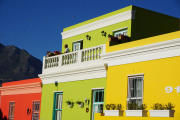 Awesome colored houses!